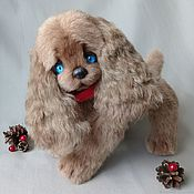 Куклы и игрушки handmade. Livemaster - original item Teddy the puppy is a Symbol of the year. Handmade.