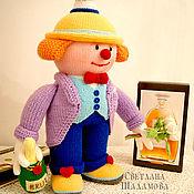 """Куклы и игрушки ручной работы. Ярмарка Мастеров - ручная работа Вязаная кукла """"Человек-праздник"""". Handmade."""