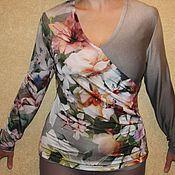 """Одежда ручной работы. Ярмарка Мастеров - ручная работа Блуза """"Лилия"""".. Handmade."""