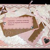"""Свадебный салон ручной работы. Ярмарка Мастеров - ручная работа Коробочка """"Свадебная"""" (розовая). Handmade."""