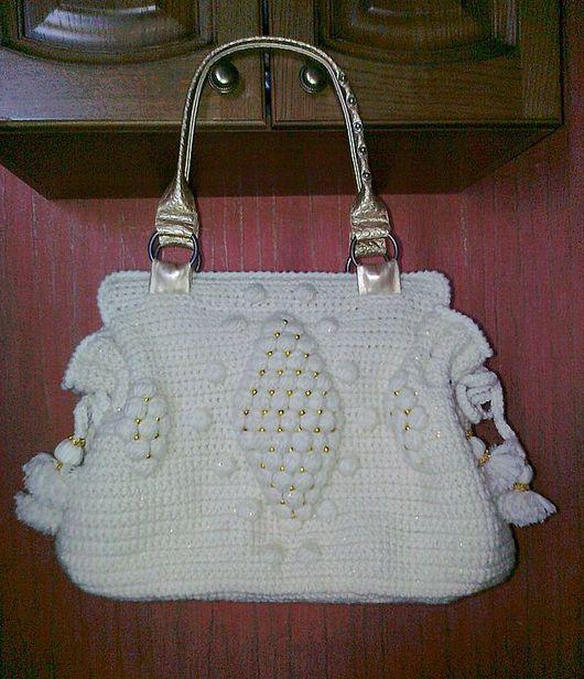 """Женские сумки ручной работы. Ярмарка Мастеров - ручная работа. Купить сумка """"Белое золото"""". Handmade."""