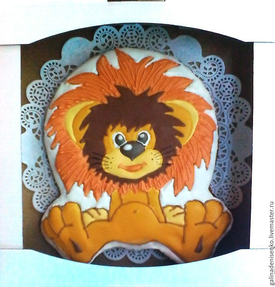 Gingerbread Lion, Gingerbread Cookies Set, Rostov-on-Don,  Фото №1