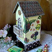 """Для дома и интерьера ручной работы. Ярмарка Мастеров - ручная работа """"Ежевика""""  чайный домик. Handmade."""