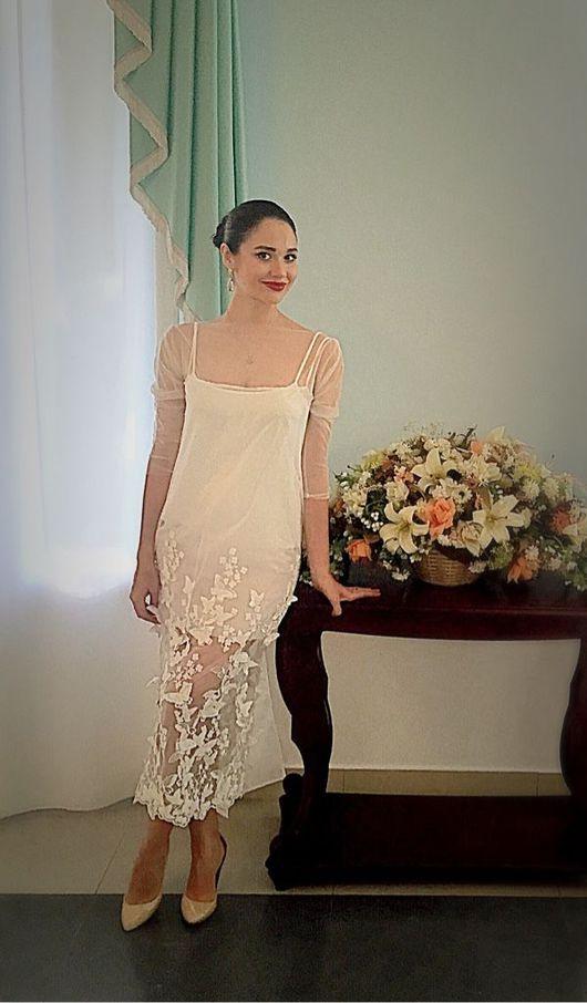 Платья ручной работы. Ярмарка Мастеров - ручная работа. Купить Свадебное платье. Handmade. Свадебное платье, вечернее платье, шифон