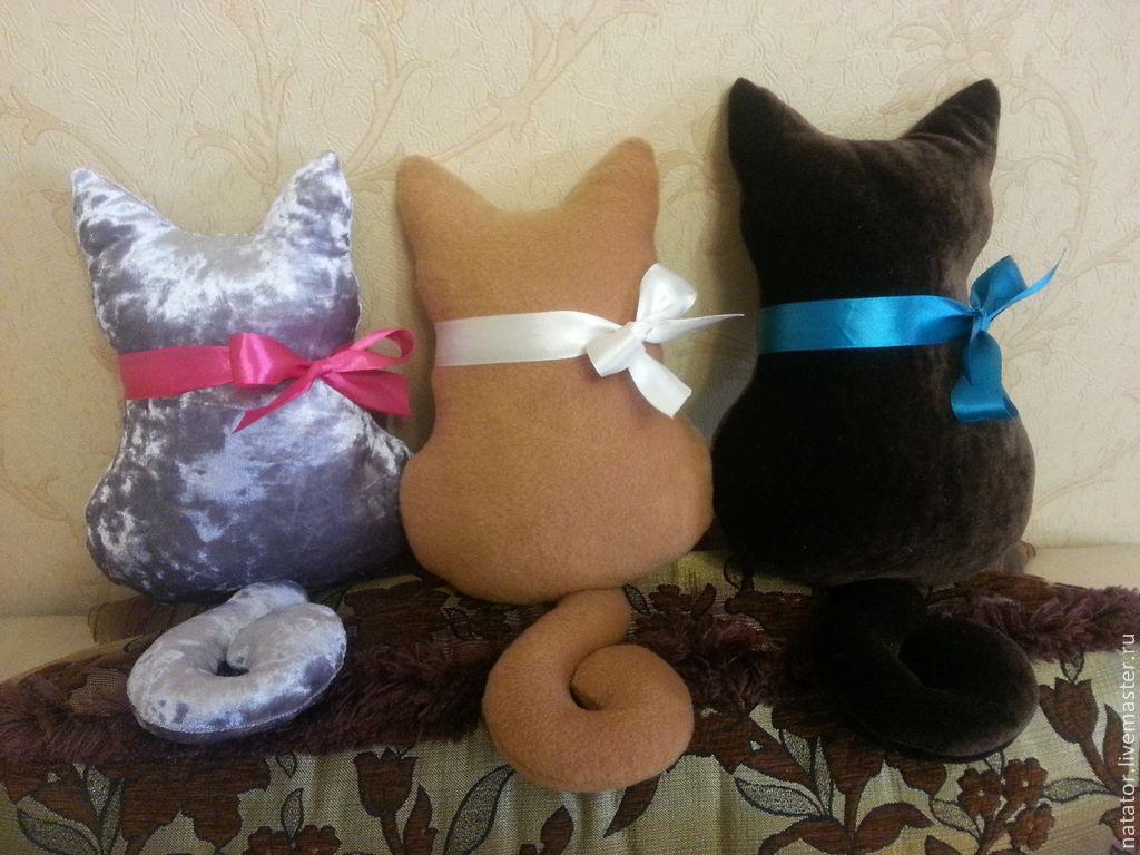Коты подушки мастер классы 4