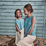 Одежда ручной работы. Ярмарка Мастеров - ручная работа Платья Family Look. Handmade.