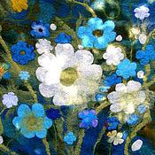 Для дома и интерьера ручной работы. Ярмарка Мастеров - ручная работа войлочный ковер - Скоро весна. Handmade.