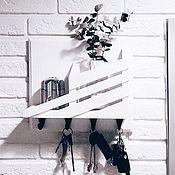 Для дома и интерьера handmade. Livemaster - original item Key holder wall Scandi. Handmade.