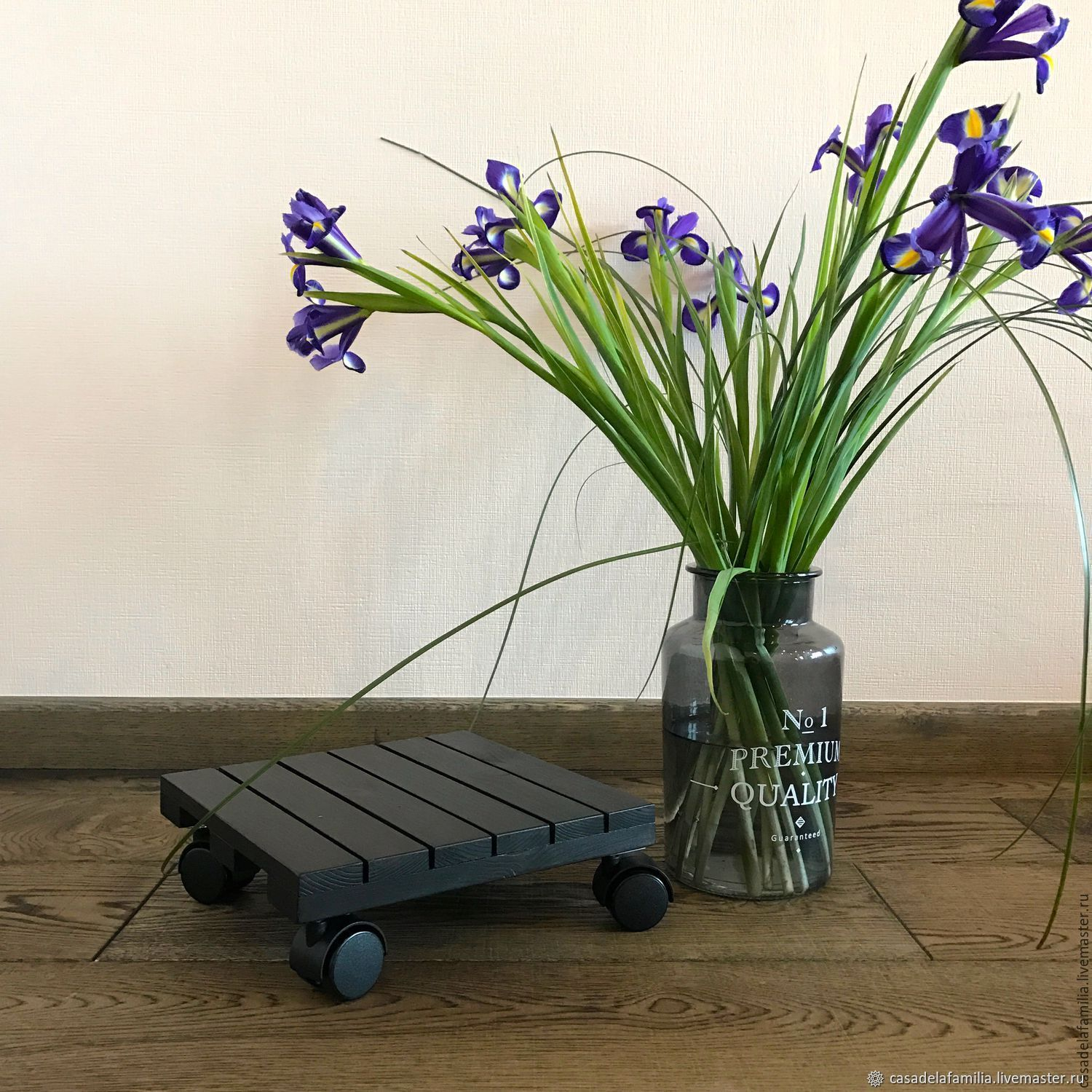 Stand for flowers on wheels, Flower stand, Moscow,  Фото №1