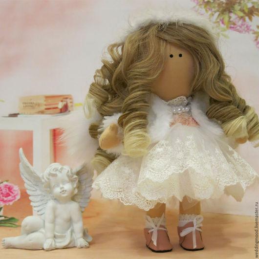 Коллекционные куклы ручной работы. Ярмарка Мастеров - ручная работа. Купить Ангелочек. Handmade. Комбинированный, кукла, девочке, нежность