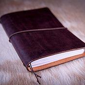 Канцелярские товары handmade. Livemaster - original item A5 diary with replaceable blocks