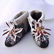 handmade. Livemaster - original item Boots for the house
