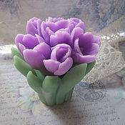 Косметика ручной работы. Ярмарка Мастеров - ручная работа Мыло. Весенние цветы. Handmade.