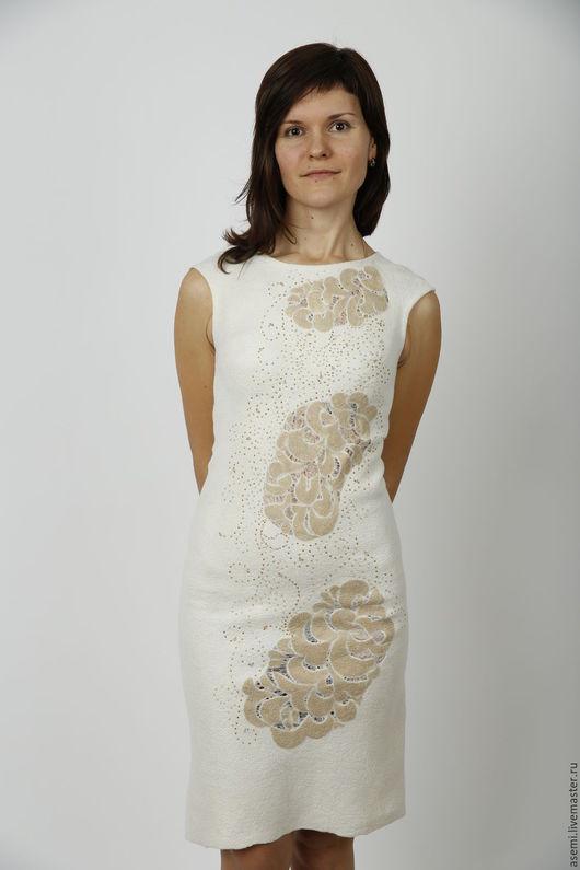 """Платья ручной работы. Ярмарка Мастеров - ручная работа. Купить Платье """"Душа наружу"""". Handmade. Белый, вечернее платье"""