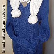 Одежда ручной работы. Ярмарка Мастеров - ручная работа Платье с аранским узором.. Handmade.