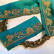 Материалы для творчества handmade. Livemaster - original item Piece of antique embroidery No. №975. Handmade.