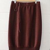 Одежда ручной работы. Ярмарка Мастеров - ручная работа Четыре клина (вязаная юбка) отложена. Handmade.