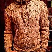 Одежда ручной работы. Ярмарка Мастеров - ручная работа Свитер с капюшоном. Handmade.