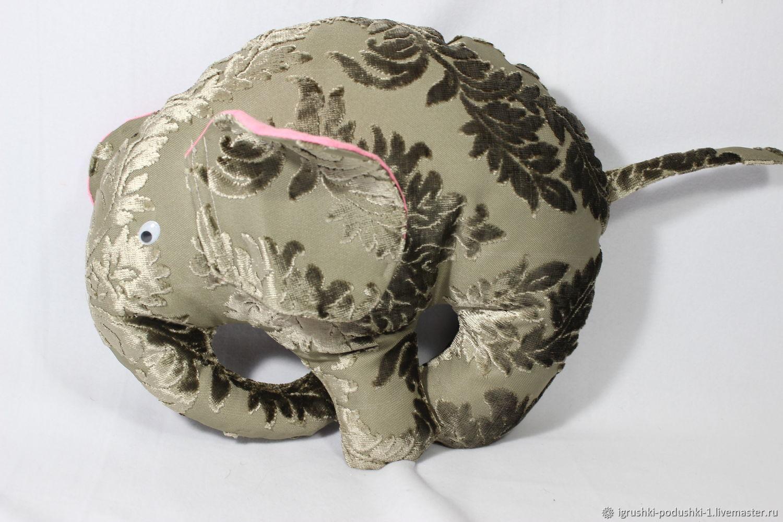 Слон гламурный, Мягкие игрушки, Таганрог,  Фото №1