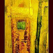 """Картины и панно ручной работы. Ярмарка Мастеров - ручная работа Картина  """"Зелень лета"""". Handmade."""