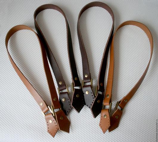 Другие виды рукоделия ручной работы. Ярмарка Мастеров - ручная работа. Купить Кожаные ручки для сумок. Handmade. Кожаные ручки