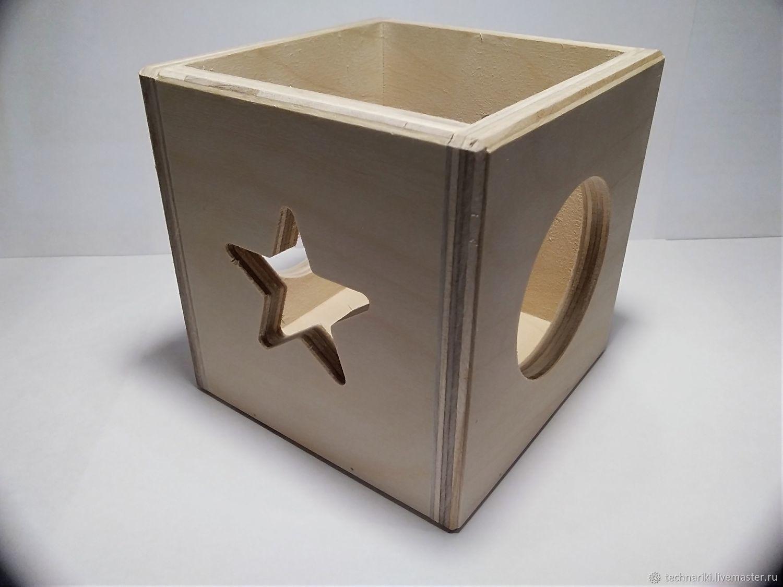 Деревянная коробка, Формы, Москва,  Фото №1