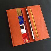 Сумки и аксессуары handmade. Livemaster - original item Leather folder for documents. Handmade.