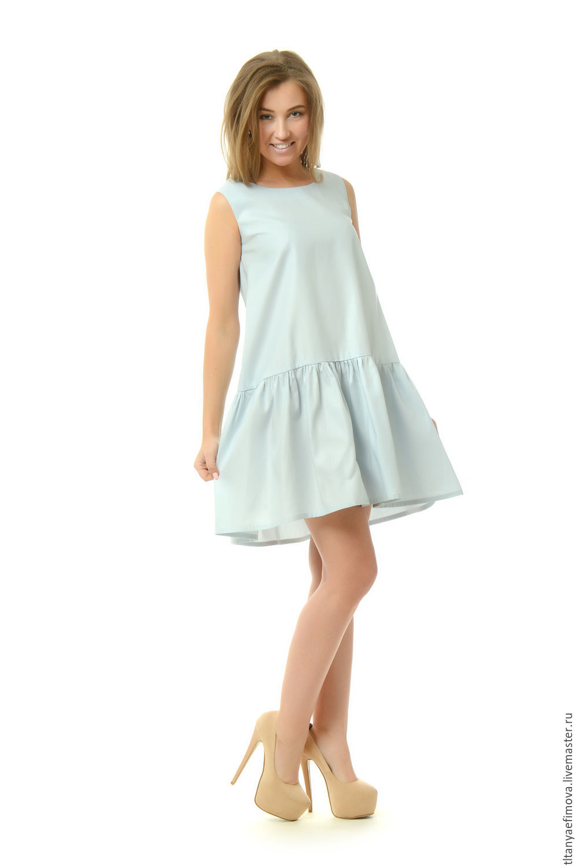 Платье с воланом внизу купить спб