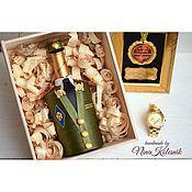 Сувениры и подарки handmade. Livemaster - original item Gift for man Gift to Colonel the design of the bottles. Handmade.