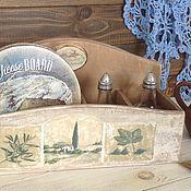 """Для дома и интерьера ручной работы. Ярмарка Мастеров - ручная работа Короб -  органайзер  """" итальянская кухня"""". Handmade."""