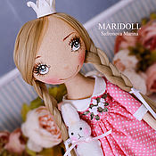 Dolls handmade. Livemaster - original item Blanche  doll textile, art doll, ooak, doll interior artdoll. Handmade.