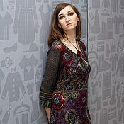 Одежда handmade. Livemaster - original item Knit-felted dress