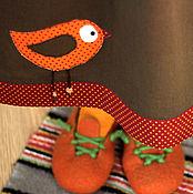"""Одежда ручной работы. Ярмарка Мастеров - ручная работа юбочка """" Осенний птиц."""". Handmade."""