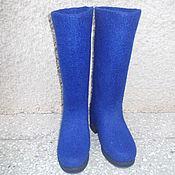 Обувь ручной работы. Ярмарка Мастеров - ручная работа Сапоги женские валяные. Handmade.