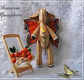 Куклы и игрушки ручной работы. Ярмарка Мастеров - ручная работа Слон-бабочка ароматизированный. Handmade.