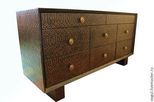 Мебель ручной работы. Ярмарка Мастеров - ручная работа. Купить Комод  Ориент-2. Handmade. Комод, акрил