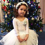 Работы для детей, ручной работы. Ярмарка Мастеров - ручная работа Новогодний костюм Снежинка. Handmade.
