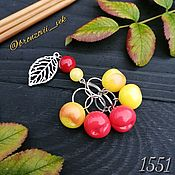 Материалы для творчества handmade. Livemaster - original item Markers for knitting on cast rings 1551. Handmade.