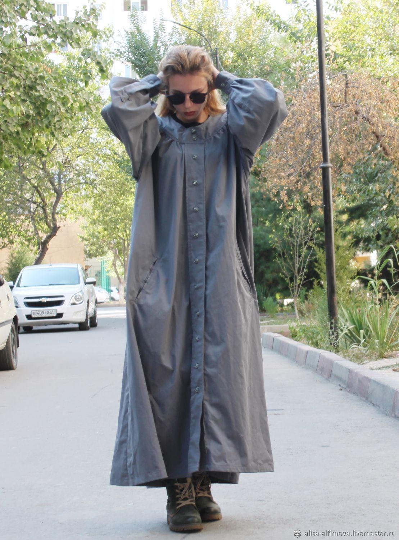 Дизайнерский Плащ (Пыльник) в Бохо Стиле, Верхняя одежда, Ташкент, Фото №1