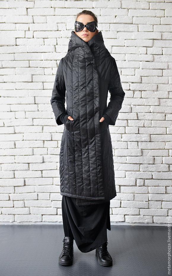 368ecf0bd38 Верхняя одежда ручной работы. Ярмарка Мастеров - ручная работа. Купить  Стеганое пальто в пол ...