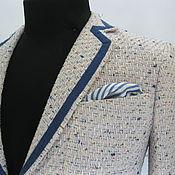 Одежда ручной работы. Ярмарка Мастеров - ручная работа летний пиджак. Handmade.