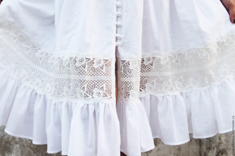 Купить Летнее Белое Платье С Кружевом Купить В