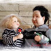 """Куклы и игрушки ручной работы. Ярмарка Мастеров - ручная работа """"Вместе"""" или Дедушка рядышком с бабушкой. Handmade."""