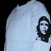 Одежда ручной работы. Ярмарка Мастеров - ручная работа Тату-свитер -  Че Гевара (вариант 2). Handmade.