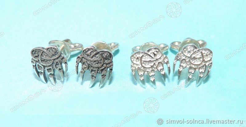 Earrings, Pusey Printing Velez, Folk decorations, Sochi,  Фото №1