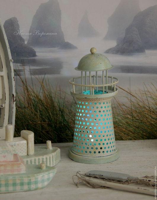 Детская ручной работы. Ярмарка Мастеров - ручная работа. Купить Морской сезон Green Gate. Handmade. Комбинированный, маяк