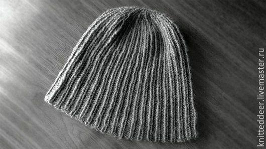 Шапки ручной работы. Ярмарка Мастеров - ручная работа. Купить Шапка-Рябая. Handmade. Серый, шапка, шапка шерстяная