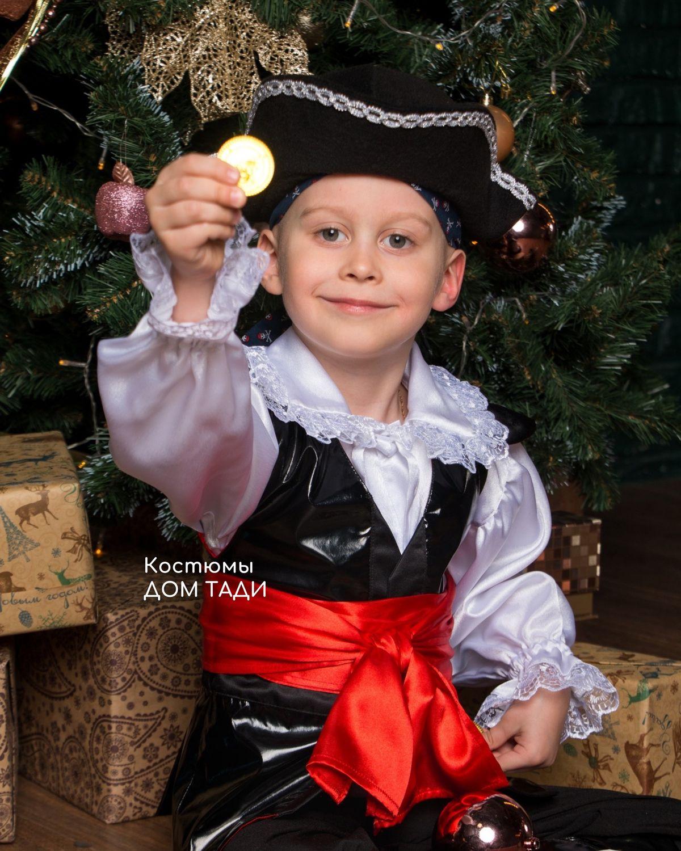 Pirate costume Buccaneer new year's children's carnival hat pirate, Carnival costumes, Kaliningrad,  Фото №1