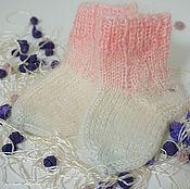 Аксессуары handmade. Livemaster - original item The baby socks. Handmade.