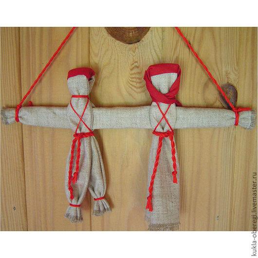 Народные куклы ручной работы. Ярмарка Мастеров - ручная работа. Купить Неразлучники. Handmade. Неразлучники, народная кукла, обрядовая кукла